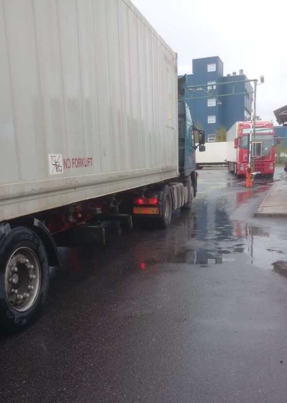 Автоматический учет грузов на автотранспорте